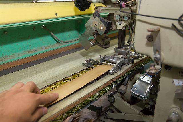 工程3:ヘリ(平縫い)